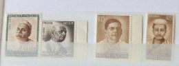 India 1965 - 66 SG 522 -535 , 538 AND 539 SINGLE SETS  MNH 3 SCANS - Inde