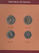 Ghana Serie Set 4 Monete Anno 1991 - Ghana
