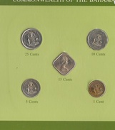 Bahamas Serie Set 5 Monete  Anni Diversi - Bahamas
