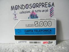 MONDOSORPRESA (LT1148/42) USATA VARIETà, C&C N° 1202, CARTA INFINITA, N° SERIE CURVO - Italië