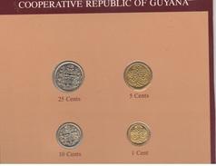 Guyana Serie Set 4 Monete - Guyana