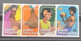 Papua New Guinea, 1979, Mi: 377/80 (MNH) - Honden