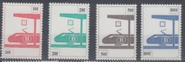 BELGIUM MNH** COB TR 455/58 - Chemins De Fer