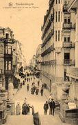BLANKENBERGHE  -  L' Escalier Des Lions Et Rue De L' Eglise - Blankenberge