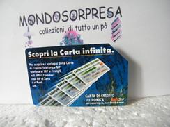 MONDOSORPRESA (LT1148/51) USATA VARIETà, C&C N° 1208, CARTA INFINITA, SENZA  IP (INSERZIONE PUBBLICITARIA) - Italië