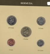 Bermuda  Serie Set 4 Monete Anni Diversi - Bermuda