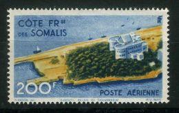 COTE DES SOMALIS  ( AERIEN ) :  Y&T N°  22  TIMBRE  NEUF  AVEC  TRACE  DE  CHARNIERE , A  VOIR . - Côte Française Des Somalis (1894-1967)
