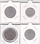 4 Pièces Divers Voir Détail - Réf X09 - Monnaies