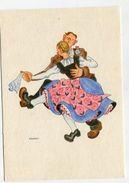 COSTUME  - AK300700 Germany - Dances