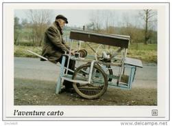 Rumilly Pas De Calais Monsieur Ritz Rémouleur Gros Plan Aventure Carto 1991état Superbe - Autres Communes