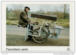 Rumilly Pas De Calais Monsieur Ritz Rémouleur Gros Plan Aventure Carto 1991état Superbe - France