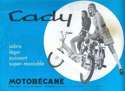 Prospectus Motobécane Cyclomoteur Cady Années 70 - Publicités