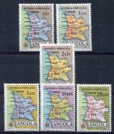Angola     (colonie Portuguaise)           383/388  ** - Angola