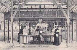 58 POUGUES Les EAUX  THERMALISME  Femmes Elégantes En Cure Aux SOURCES Saint LEGER Et Saint LEON Timbre 1906 - Pougues Les Eaux