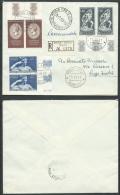 1957 ITALIA FDC CANOVA TIMBRO DI ARRIVO - BF - 6. 1946-.. República