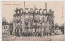 Lunéville   --  Rue Carnot --  Maison Leclerc Incendiée - Luneville