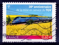 "France, TGV ""high Speed Train"", 30th Anniv., 2011, VFU - Frankrijk"