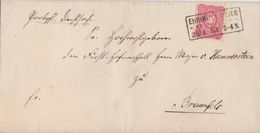 DR Brief EF Minr.41 R3 Ehringshausen 28.4.83 Gel. Nach Braunfels - Deutschland