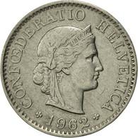 Suisse, 5 Rappen, 1962, Bern, SUP, Copper-nickel, KM:26 - Switzerland