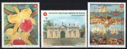 SMOM - 2000 - DONAZIONI DI ARTISTI CONTEMPORANEI PER L'ANNO GIUBILARE DELL'ORDINE - 2^ EMISSIONE - NUOVI MNH - Sovrano Militare Ordine Di Malta