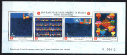 SMOM - 2000 - DONAZIONI DI ARTISTI CONTEMPORANEI PER L'ANNO GIUBILARE DELL'ORDINE - SOUVENIR SHEET - NUOVI MNH - Sovrano Militare Ordine Di Malta