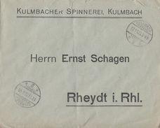 DR Brief Mef Minr.10x 325A Kulmbach 17.11.23 - Deutschland