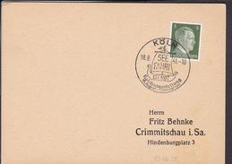 "Sonderstempel  Köln "" Reichsausstellung Seefahrt Ist Not "" 1941 - Storia Postale"