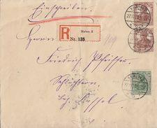 DR R-Brief Mif Minr.2x 103,143 Mainz 27.10.20 - Deutschland