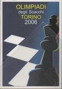 Cartolina Scacchi Schach Olimpiade Torino 2006 Chess échecs - Scacchi