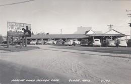Globe Arizona, Apache Land Village Cafe Restaurant Indian Theme, Autos, C1950s Vintage Real Photo Postcard - Altri