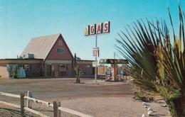 Apache Junction Arizona, Apache Trail KOA Campground, Gas Station, C1970s Vintage Postcard - United States