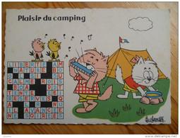 Barberousse - Plaisir Du Camping - Chats - Vacances - Humour - Fantaisie - Qq Petites Taches Possibles - Barberousse