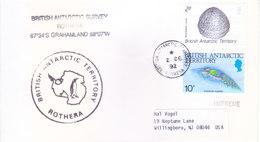 BRITISH ANTARCTIC TERRITORY - EXPEDITION COVER, 1992 - BRITISH ANTARCTIC TORRIEOTY, ROTHERA / GRAHAMLAND - British Antarctic Territory  (BAT)