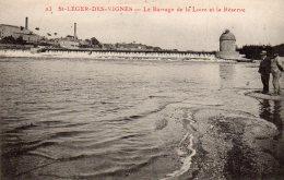 CPA   58   SAINT-LEGER-LES-VIGNES---LE BARRAGE DE LA LOIRE ET LA RESERVE - Autres Communes