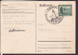 "Sonderstempel  Jena "" Thüposta "" 1936 - Briefe U. Dokumente"