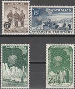 """Australische Gebiete  Antarktis 2-5 """"Antarktisforschung"""" MNH / ** / Postfrisch - Briefmarken"""