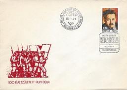 HUNGARY - 1986. FDC - Béla Kun,Communist Party Founder  MNH!! Mi 3811. - FDC