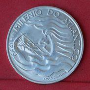 PORTUGAL 1000 ESCUDOS 1999 - 27,2 GRS 0,500 SILVER KM# 721 - (Nº18685) - Portogallo