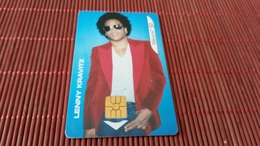 Phonecard Lenny Kravitz Used - Musique