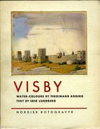 Suède : Visby Water Colours By Boberg, Text By Lundberg (1939) - Livres, BD, Revues