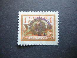 Lietuva Litauen Lituanie Litouwen Lithuania # 1926 MNG # Mi. 267 No Gum - Lituanie