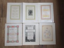 "Superbe Lot 24 Pages ""affiches"" Des Imprimeries Lithoanstalten Chaix Jehenne Tolmer Ducher Noblet Oudin Rose...... - Chromo"