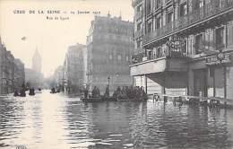 75 PARIS Inondations Crues 1910 : Rue De Lyon - CPA - Inondations De 1910