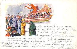 06 - Carnaval De Nice 1900- Char Du Phonographe (Litho, 1900) - Karneval