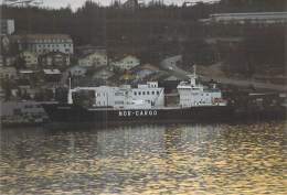 PHOTO (1980-2000) Bateau Cargo Merchant Ship Tanker : NORD JARL Nor-Cargo (Kodak +/- 15 X 10 Cm) - Schiffe