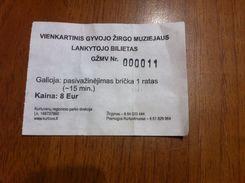 Lithuania Ticket Horse Museum - Tickets - Entradas