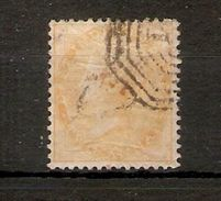 INDIA 1863 2a YELLOW SG 43 NO WATERMARK FINE USED Cat £55 - India (...-1947)