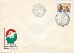 HUNGARY - 1985. FDC II.- 26th European Boxing Championships,Budapest  Mi:3750. - FDC