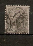 INDIA 1856 4a GREY - BLACK SG 46 NO WATERMARK FINE USED Cat £5.50 - 1854 East India Company Administration