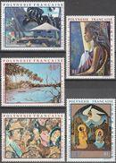 """Französisch Polynesien 145-9 """"Gemälde Polynesischer Künstler"""" MNH / ** / Postfrisch - Französisch-Polynesien"""